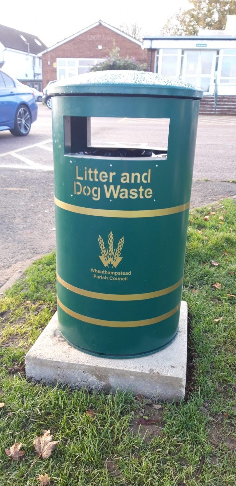 New style mixed waste bin